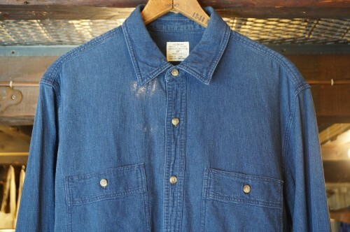 J.CREW long-sleeve indigo Shirt
