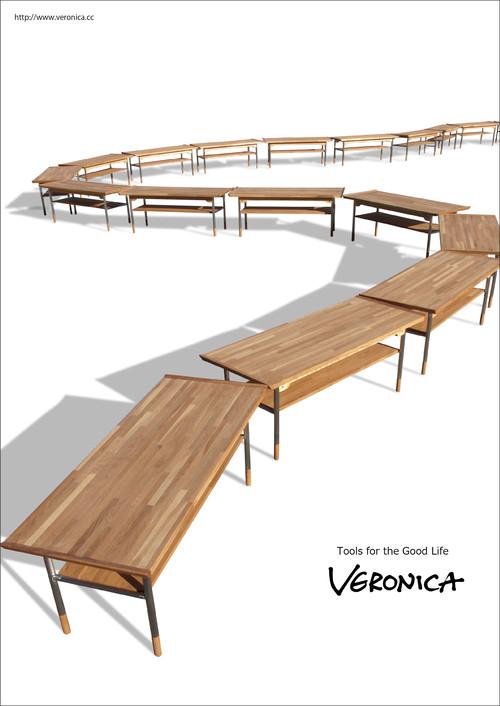 Model.86 ベンチテーブル