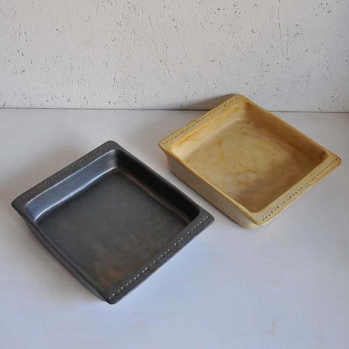 鈴木史子 耐熱グラタン皿(正方形)