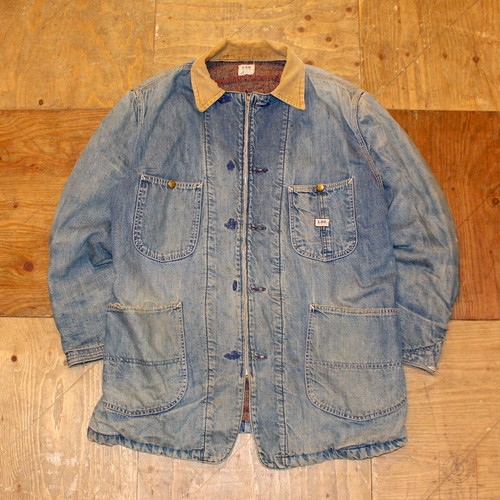 60s LEE 81-LJ DENIM COVERALL  / UT1214