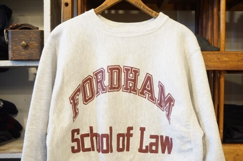 "90's CHAMPION reverse weave Sweat ""FORDHAM/ Made in U.S.A."""