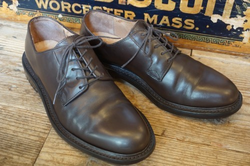 90's J.CREW plain-toe derby dress Shoes