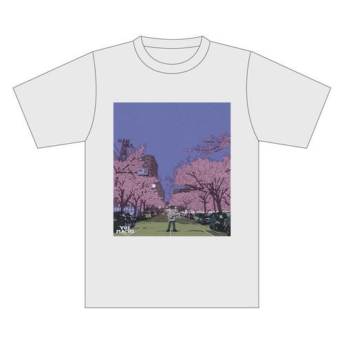 YOIMACHIメモリアル Tシャツ -春のYOIMACHI 2018- ver.2 アッシュ