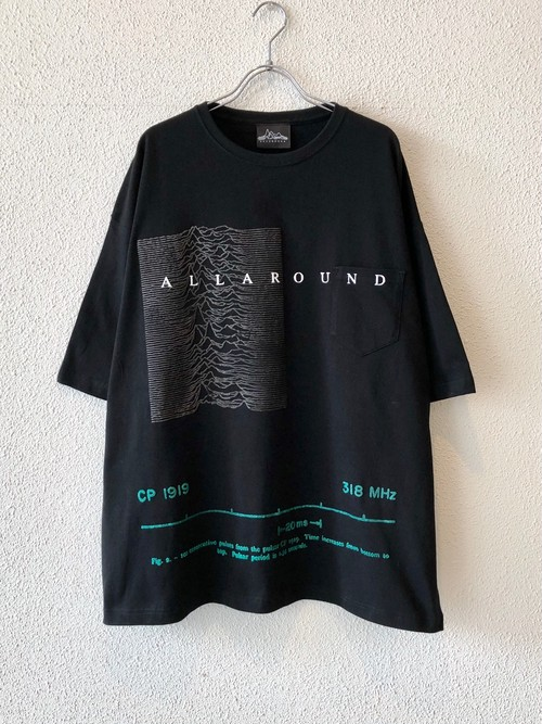 【ゲリラ発売商品】WIDE SILHOUETTE S/S POCKET Tee