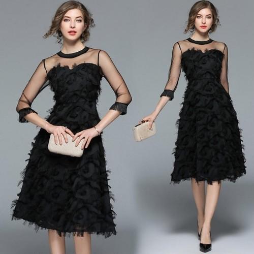 【即納・国内在庫】Medium Dress Stdm547