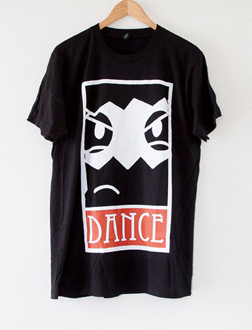 【DANCE GAVIN DANCE】Face T-Shirts (Black)