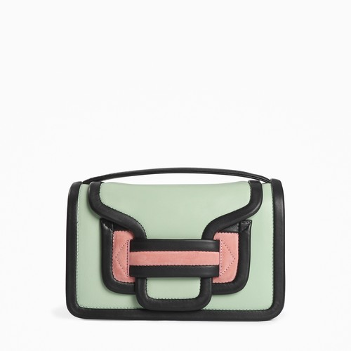 PIERRE HARDY   ALPHA HANDBAG   MULTI-MINT-PINK