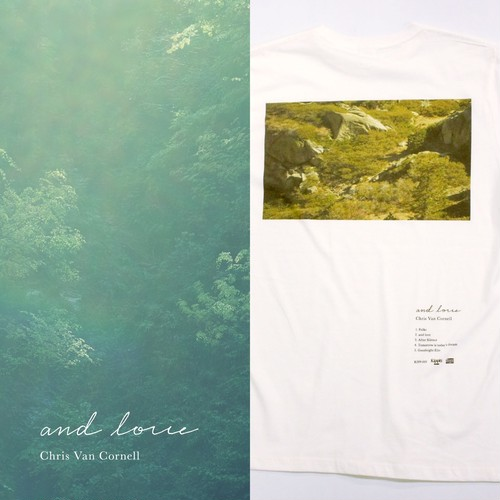 【ONLINE限定】「and love」×  ブックレットフォトTee「K」セット