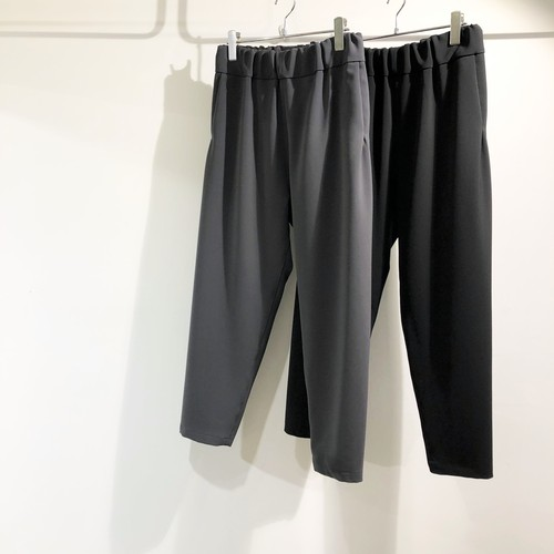 NO CONTROL AIR 【ノーコントロールエアー】 Heavy polyester double cloth 2 way stretch Tapered pants
