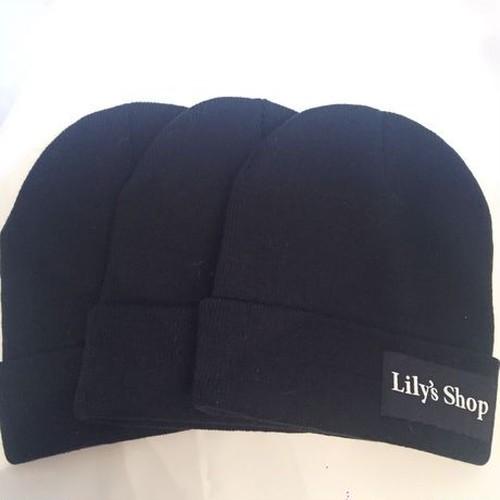 Lily's Shopロゴ knit cap