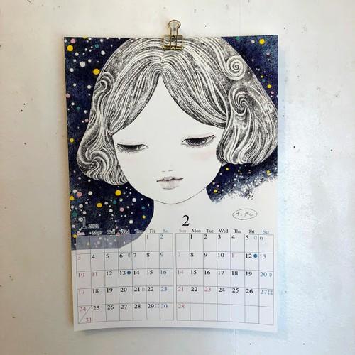 橋本京子「壁掛けカレンダー」
