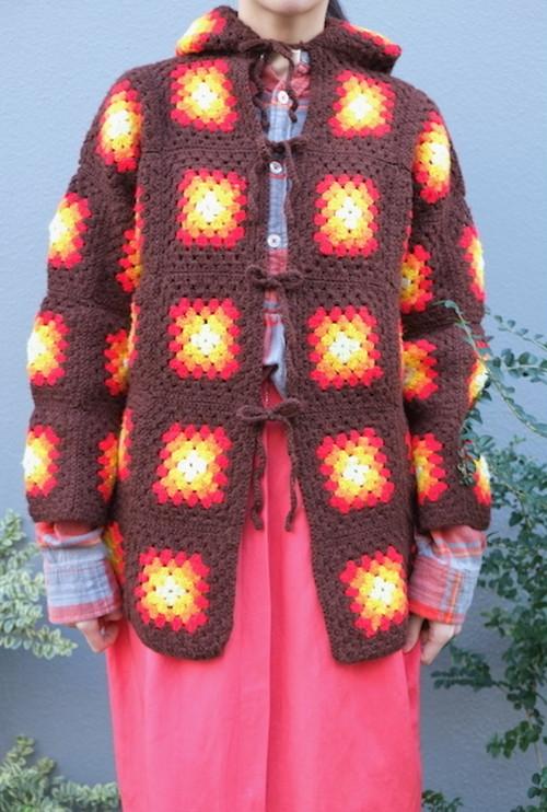 my flames knit jacket.