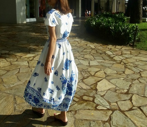 Blueflower  dress