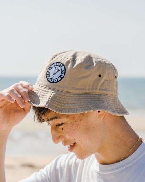 ALOHA SURF Bucket HAT (beige)