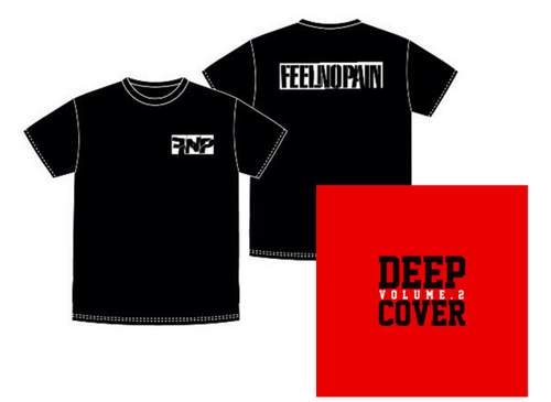 DEEP COVER vol.2 + T-SHIRTS SET BLACK【初回限定】