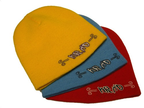 Krooked Embroidery Beanie