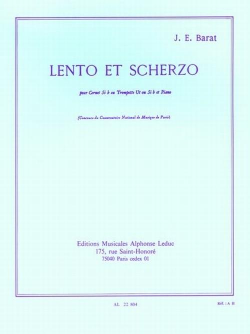 バラ:レントとスケルツォ/トランペット・ピアノ
