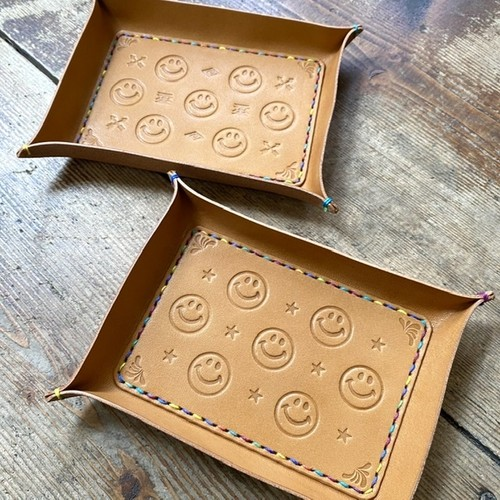 SMILE Leather TRAY ☺︎★/ネイティブ