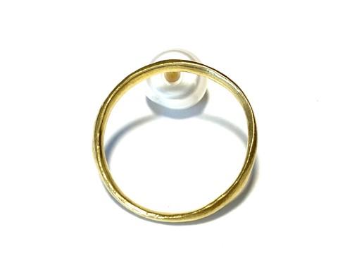EB-001-G 【en gold earring】