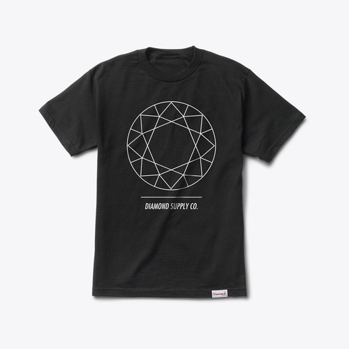 Diamond Supply Co. - DTC tee BLACK
