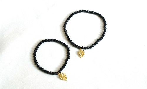 for couple bluegold stone bracelet