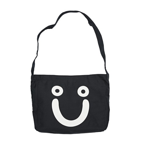 POLAR SKATE CO. HAPPY SAD TOTE BAG BLACK ポーラー バッグ