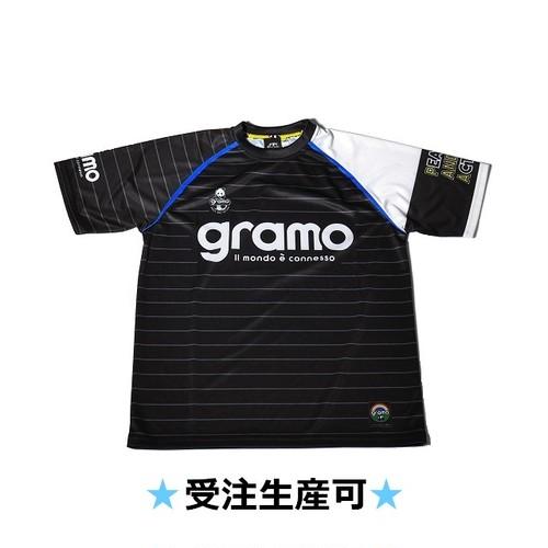 プラクティスシャツ「sharp」(ブラック/P-018)☆受注生産可☆