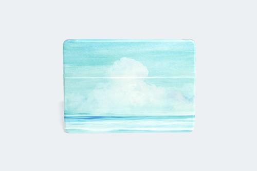 夏空と海を描いた、iPadケース
