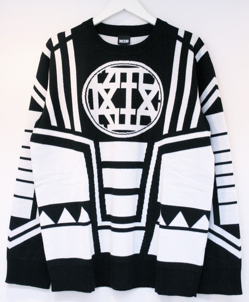 KTZ KNITTED SKI JUMPER B ニッテッド スキー ジャンパー B / BLACK 65%OFF
