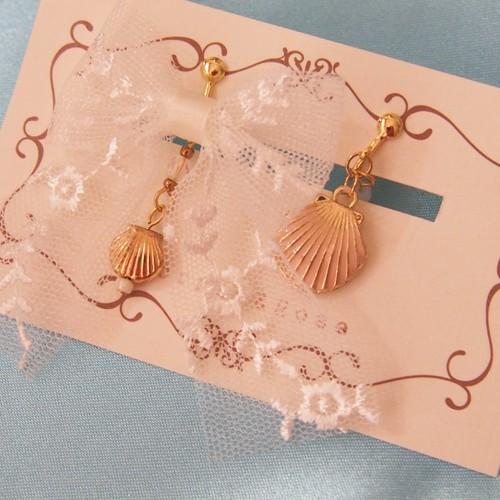 【Morpho&Rose】夏の妖精イヤリング