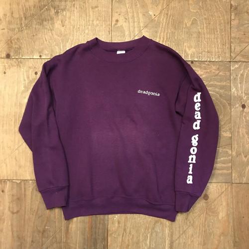 Rare 90s deadgonia Ssize purple FRUIT OF THE LOOM  UT-2453