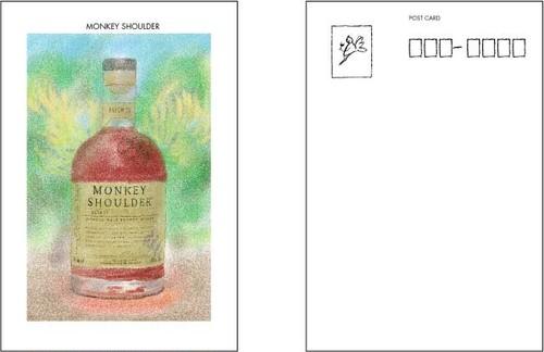MONKEY SHOULDER ポストカード