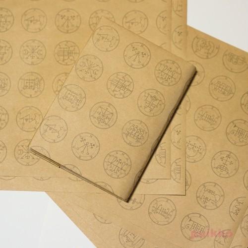 紙製ブックカバー 「ゴエティア」悪魔の印章2