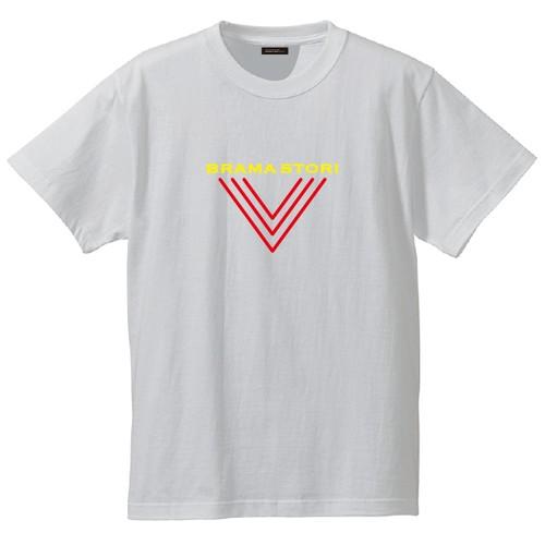 クルーデザインTシャツ