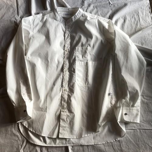 別注バンドカラー2PKTシャツ(catta×commence)