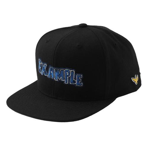 EXAMPLE × MARK GONZALES BB CAP / BLACK