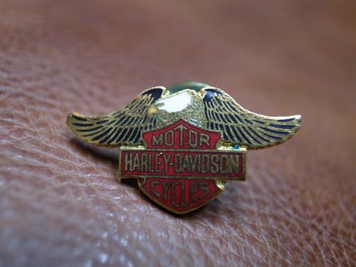 VTG Harley-Davidson イーグル&バー&シールド ピンバッチ⑦