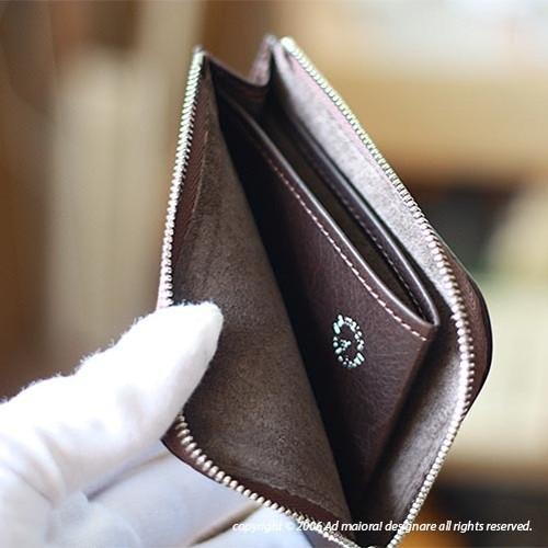 "L型財布 ""Leatus"" ・チョコ/ブラウン [受注生産品]"