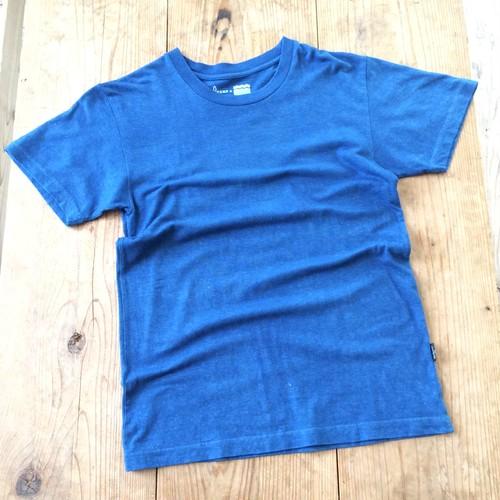 iBB×GOHEMP オリジナル藍染Tシャツ【水色】