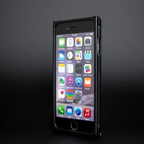 iPhone 6/6s ジュラルミンケース マッドブラック