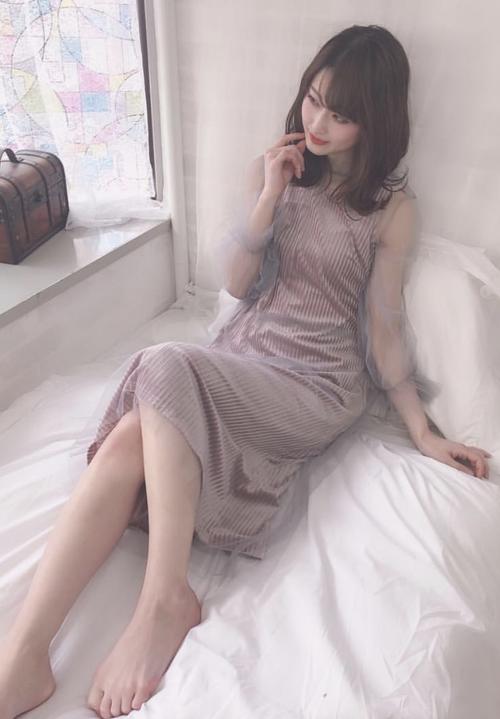 【特集掲載商品】2-set Velour&Tulle Dress / ベロアとチュールのロングワンピース