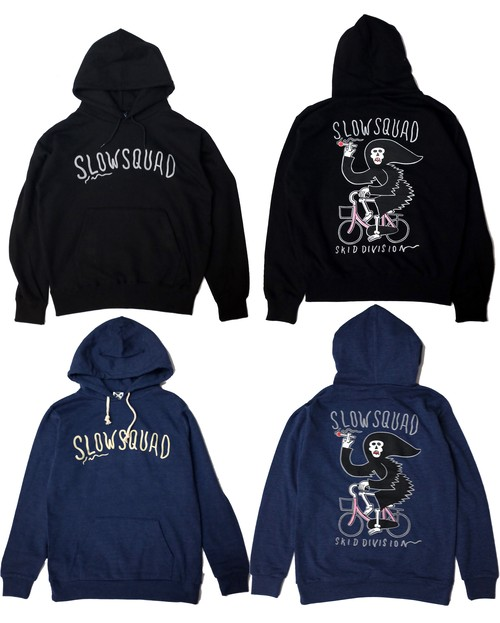 "SLOW SQUAD INTL ""Mamachari Fire Reflector Hoodie Next"""