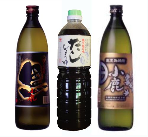 だし醤油と鹿児島焼酎小鹿のセット 2018お中元キャンペーン!!18002