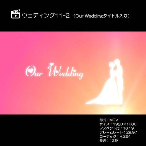 ウェディング11-2 (Our Weddingタイトル入り)