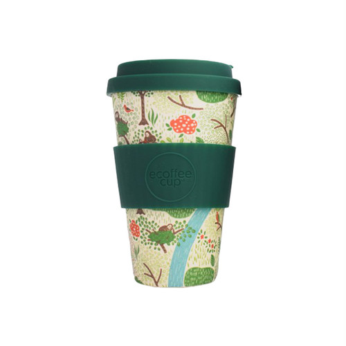 Borneo Orangutan Ecoffee Cup - White