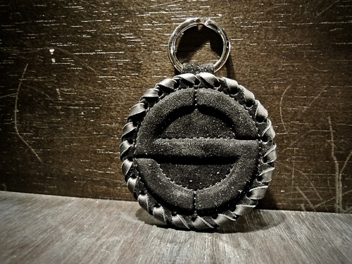 SATANTA サタンタ [S] LOGO KEY CHAIN SY-001