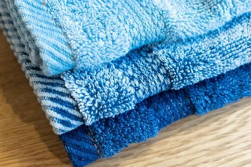 FADE DENIM -Face Towel-
