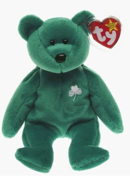 クマ ぬいぐるみ Ty Beanie Babies - Erin the Irish St Patricks