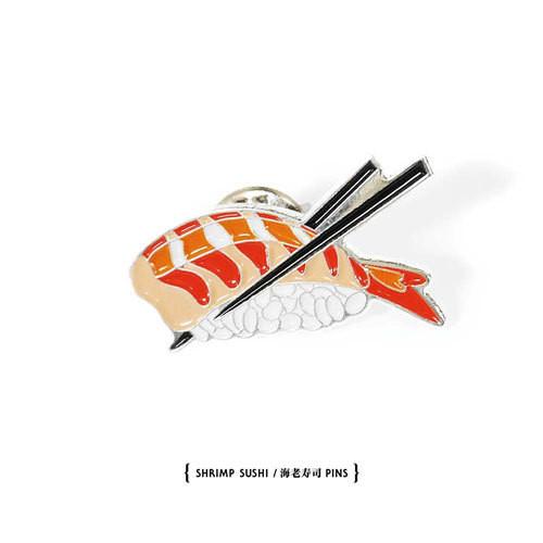 【Evisen Skateboards ゑ】海老寿司PINS