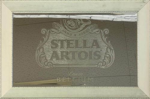 品番0507 パブミラー 『STELLA ARTOIS(ステラ・アルトワ)』 壁掛 BELGIUM ディスプレイ アメリカン雑貨